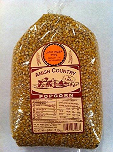 Amish Country Popcorn Ladyfinger Large 6 Pound Bag
