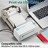 OFFNOVA Bluetooth Thermal Label Printer, High-Speed