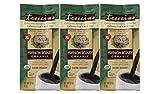 Teeccino French Roast Organic Chicory Herbal Coffee Alternative, Caffeine Free, Acid Free, Coffee Substitute, Prebiotic, 11 Ounce (Pack of 3)