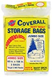 Warp's Storage Bags Banana Bags, Jumbo 60 x 108 in., 6 ct (3/2s)