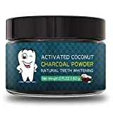 Bleaching Hair Experience - Teeth Whitening Charcoal Powder( 2.1oz)- Natural Activated Charcoal Powder Teeth Whitener of Organic Coconut Shells with Spearmint Flavor for Healthy Cleaner Whiter Teeth-Recapture Your Smile
