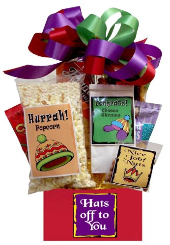 Hats Off to You Thank You Gift Basket