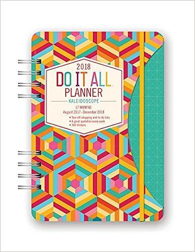 Do It All Planner (Kaleidoscope Edition)