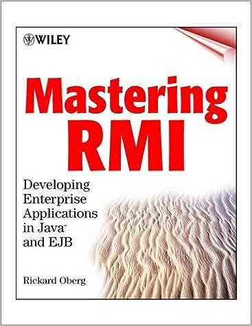 Mastering RMI