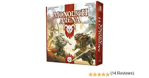 Wydawnictwo Portal POP00378 Monolith Arena - Juego de Mesa: Amazon.es: Juguetes y juegos