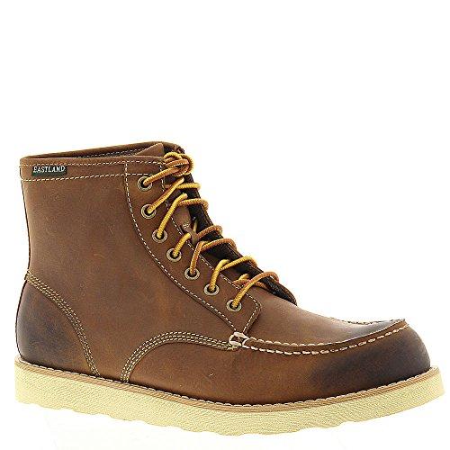 Eastland Menns Oxblood Trelast Opp Boot - 7241-10 Peanut Lær