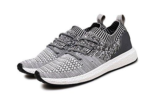 Automne Respirant de Casual de Sport Chaussures Chaussures Weave xie Flying 39 45 Light Course Gray Chaussures Chaussures Marée Hommes Été wxR7O