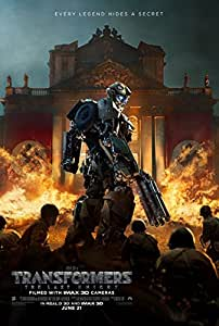 Transformers The Last Knight Movie Poster 18'' X 28''