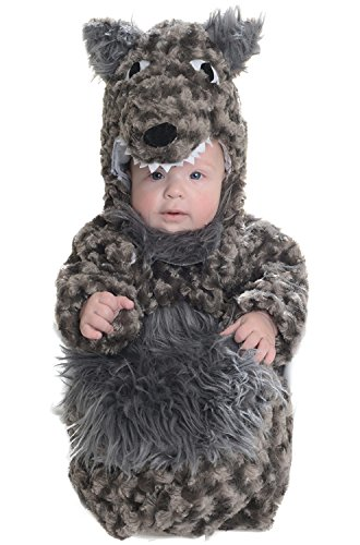 Baby's Wolf Belly Babies Bunting -