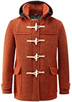 Mens Mayfair Knitted Duffle Orange