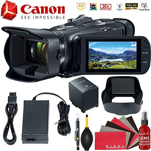(Canon Vixia HF G50 UHD 4K Camcorder (Black) Starter Bundle )
