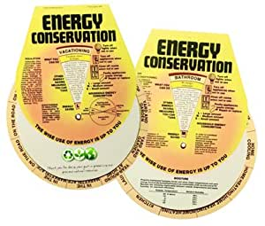 Energy conservation guide wheel spinning info for Energy conservation facts
