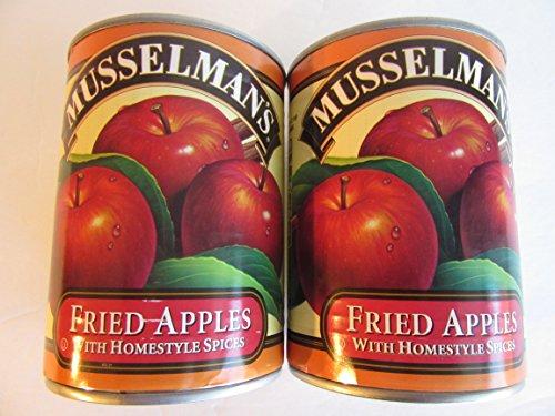 Musselmans Fried Apples w/Peel Homestyle Spices Pie Cobbler Cinnamon 2-pk 20oz each Turnovers Tarts Desserts