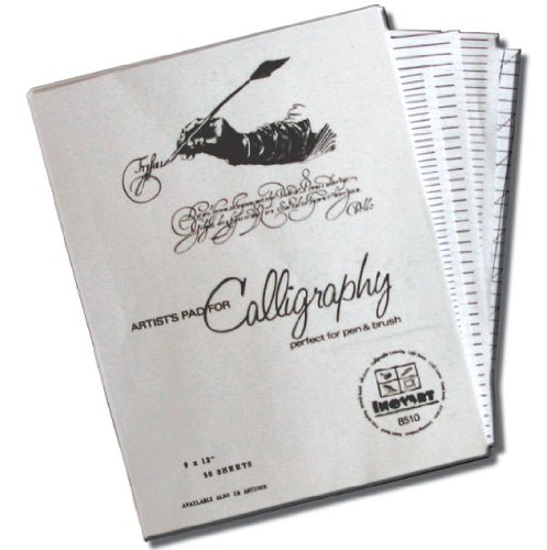 Inovart Calligraphy Paper And Lettering Guides Home Garden