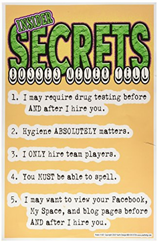 Poster 183 Student Attitude Secrets product image