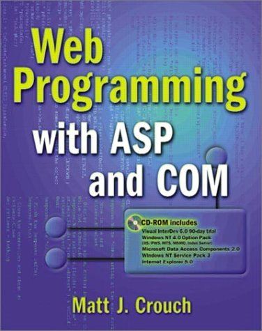 Web Programming with ASP and COM by Addison-Wesley