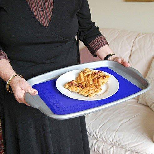 Tenura Non-Slip Large Table Mat(Color=Blue)