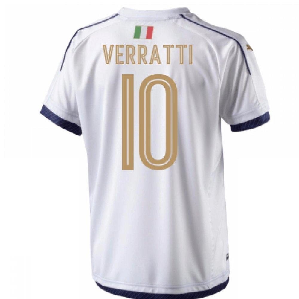 2006  Tribute Away Football Soccer T-Shirt Trikot (Marco Verrati 10) - Kids