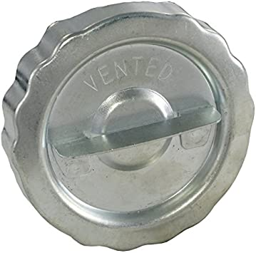 Ecklers Premier Quality Products 61172507 Chevy Truck Locking Gas Cap Chrome