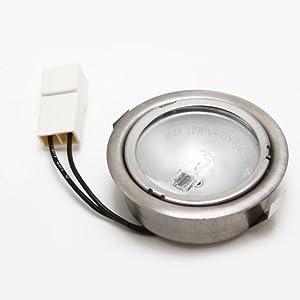 Whirlpool W8186678 Range Hood Light Bulb Genuine Original Equipment Manufacturer (OEM) Part