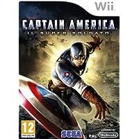 Nintendo Wii Captain America Super Soldier - NINTENDO