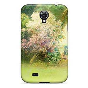 CYY7964EHcN Tpu Phone Case With Fashionable Look For Galaxy S4 - Sunny Easter Morning