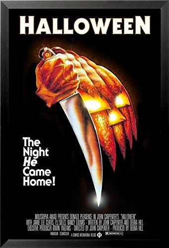 buyartforless FRAMED John Carpenters Halloween  36x24 Classi