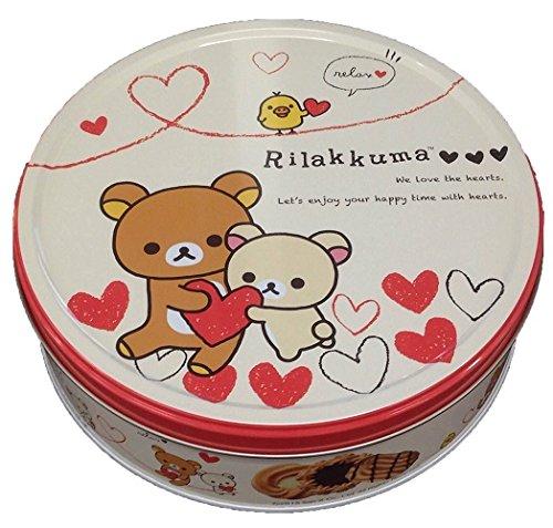 BOURBON Rilakkuma cookie Assortment Box 60sheets!!