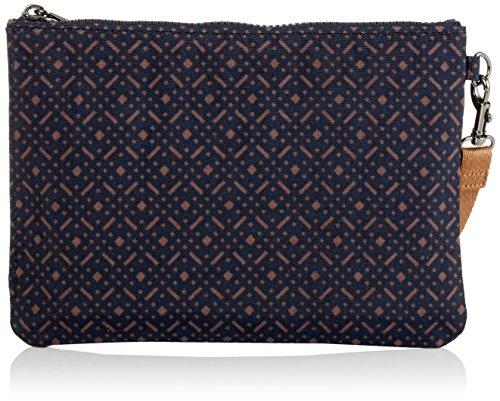 Fun Body cm x L Geo H Print Bag Multicolour Kipling Blue W Cross x Woven Women��s 15x24x45 Ellettronico OYWqzwtgzF