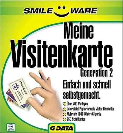 Smileware Meine Visitenkarte Generation 2 Amazon De Software