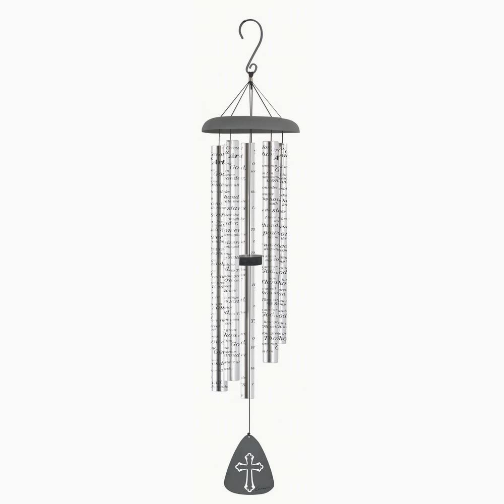 "Carson Home Accents CHA60255 How Great Thou Art 44"" Sonnet Wind Chime (Set of 1)"