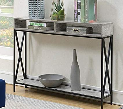 detailed look 3b26f 2b446 Amazon.com: Narrow Console Table- Entry Tables for Hallways ...
