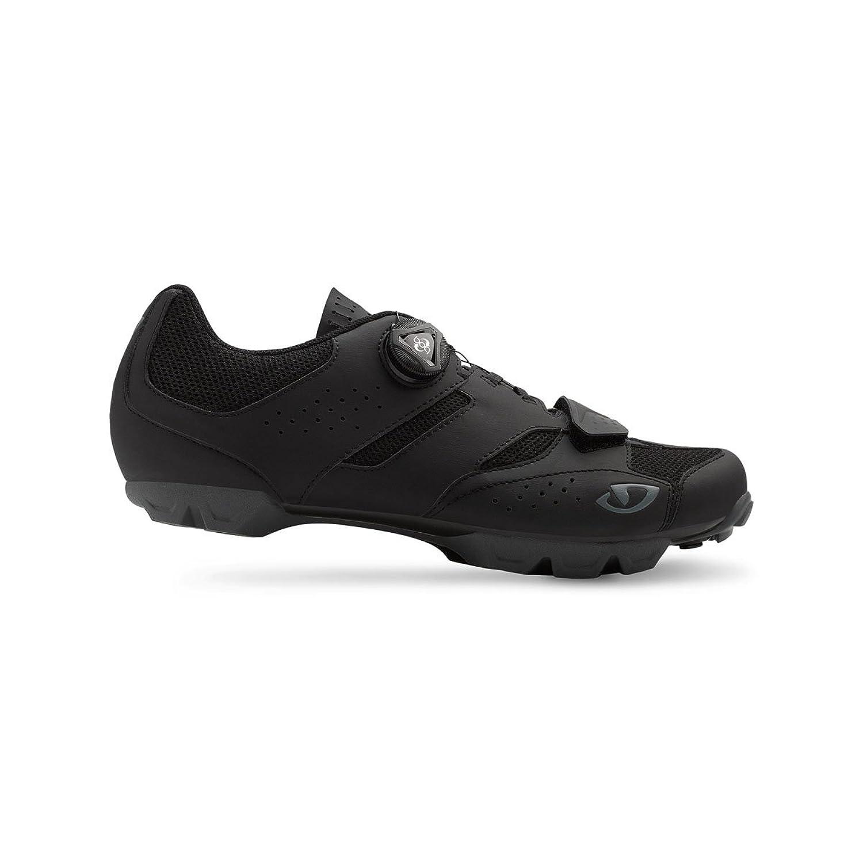 Giro Cylinder MTB, Zapatos de Bicicleta de Montaña para Hombre, Multicolor (Black 000), 44.5 EU