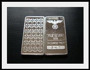 Eisernes Kreuz 1/4 Oz Silberbarren Barren 999 Silber Silver * Iron Cross *...