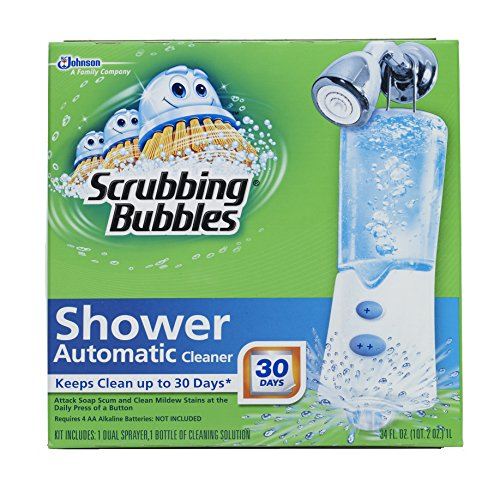 Shower Cleaner Starter - Scrubbing Bubbles Automatic Shower Cleaner, Starter Kit, 34 Ounce.