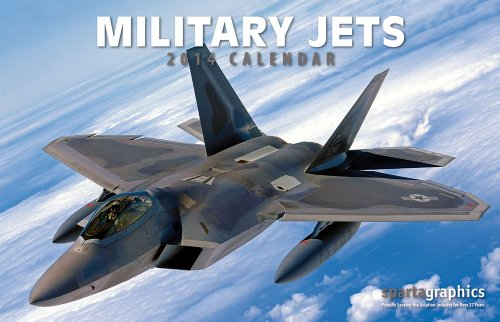 Sparta Military Jets - 2014 Military Jets Premium Wall Calendar