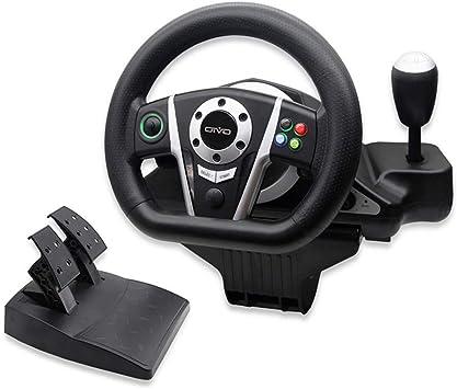 LIUXMR Volante PS3 / XINPUT/Xbox One 3 en 1 Cable Volante ...