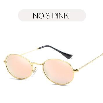 2THTHT2 Moda Gafas De Sol Redondas Pequeñas para Mujer Marca ...