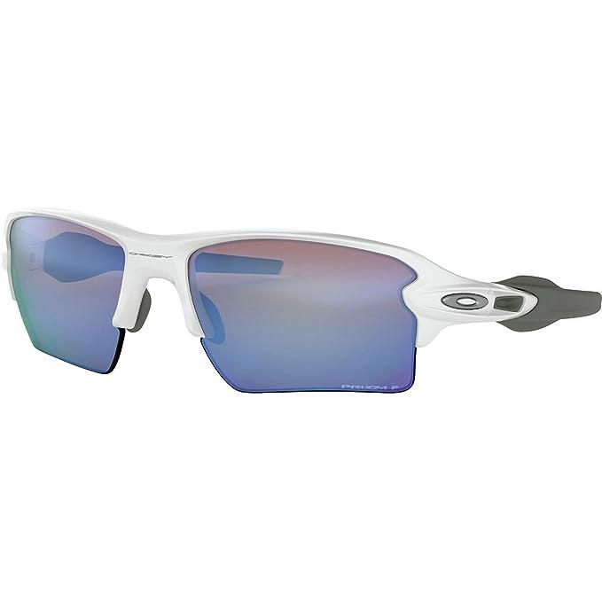 Oakley Herren Sonnenbrille Flak 2.0 Xl 918882, Weiß (Polished White/Prizmdeeph2Opolarized), 59