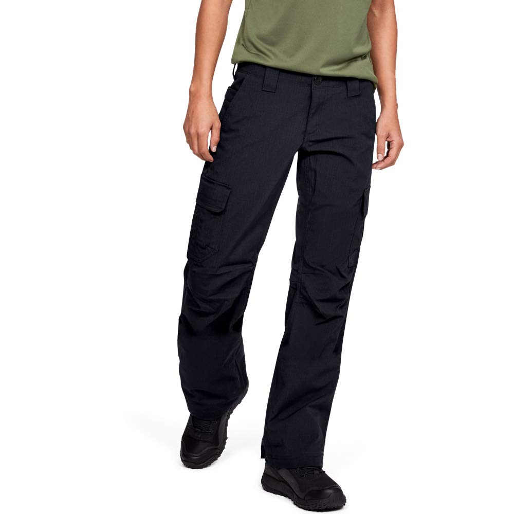 Under Armour Women's Tactical Patrol Pant, Black /Black, 14 by Under Armour