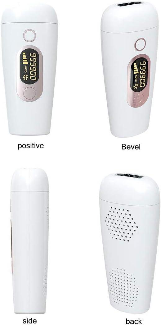 LYHLYH Sistema de depilación IPL para la Mujer, Depiladora de Dispositivos, máquinas de depilación láser para la Cara Permanente 999900 Flashes Painles Pelo Facial no Deseado Remover Pelo de axila