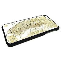 モエコ・moeco FLASH NY回路地図 iPhone 6 Plus / 6s Plus ケース 白 FLASH NY iPhone6 Plus CASE W