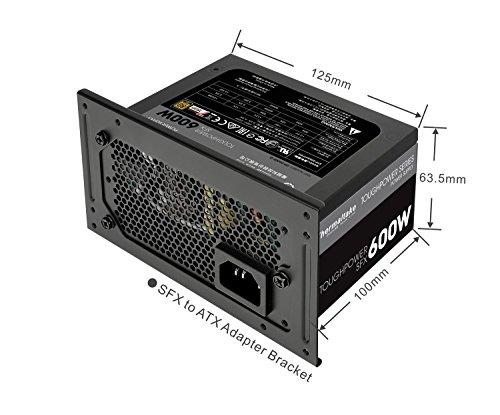 Thermaltake Toughpower SFX 600W 80+ Gold Fully Modular SFX 12V 3.3/ATX 12V 2.4 Power Supply 7 YR Warranty PS-STP-0600FPCGUS-G by Thermaltake (Image #1)