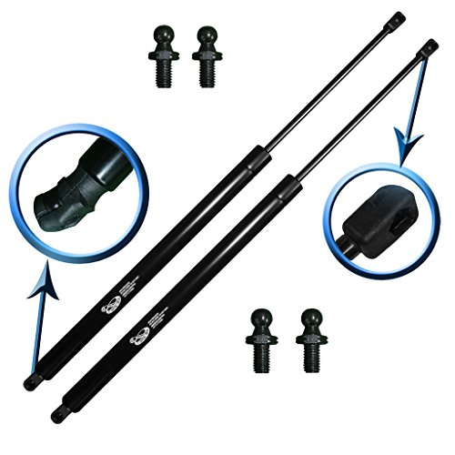 Two Rear Hatch Wagon Liftgate Gas Charged Lift Supports For 2001-2010 Crysler PT Cruiser Wagon. Left and Right Side With 4 Upgraded Mounting Studs. LSC-0160-2