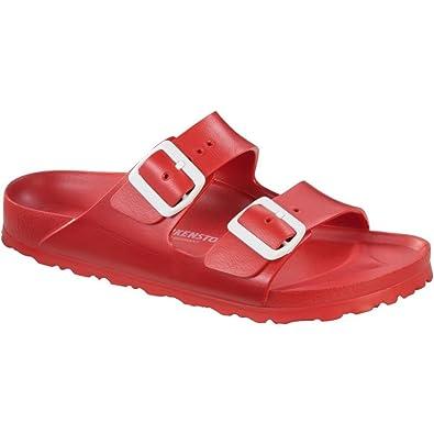 8e6343c1d Amazon.com   Birkenstock Unisex Arizona Essentials EVA Red Sandals - 40 N  EU / 9-9.5 2A(N) US   Sandals