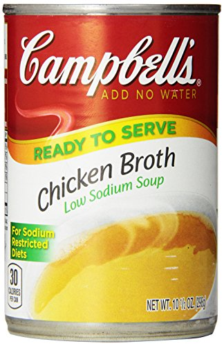 Campbells Sodium Chicken Broth Ounce product image