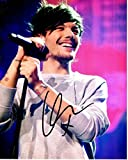 Louis Tomlinson Signed - Autographed 1D One Direction Concert 8x10 inch Photo - Guaranteed to pass PSA or JSA