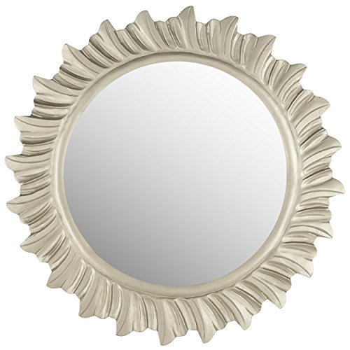 - Safavieh Home Collection By The Sea Mirror, Pewter