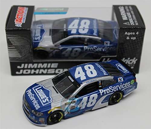 Lionel Racing Jimmie Johnson #48 Lowes Pro Services 2016 Chevrolet SS NASCAR Diecast Car (1:64 Scale) by Lionel Racing