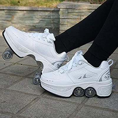 shoes with rollers on them